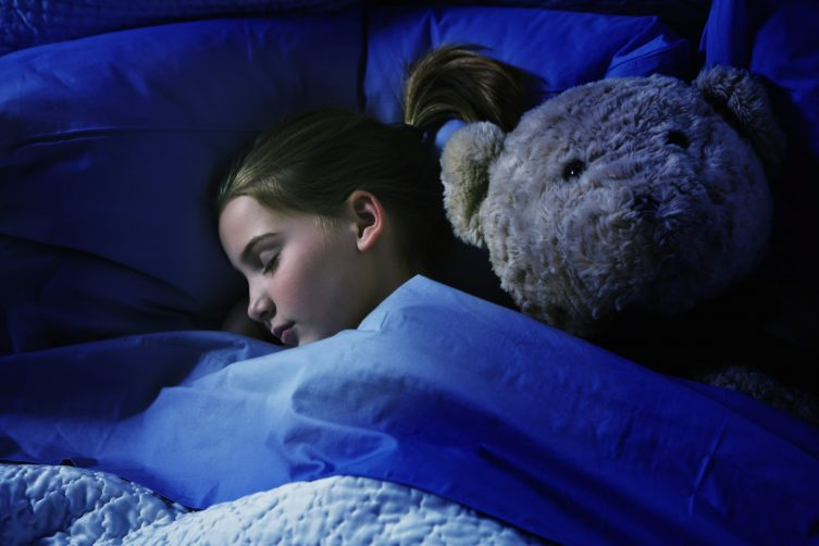 child bites at night